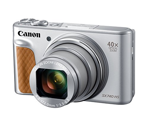 Canon PowerShot SX740 Digital Camera w/40x Optical Zoom & 3 Inch Tilt LCD - 4K VIdeo,...