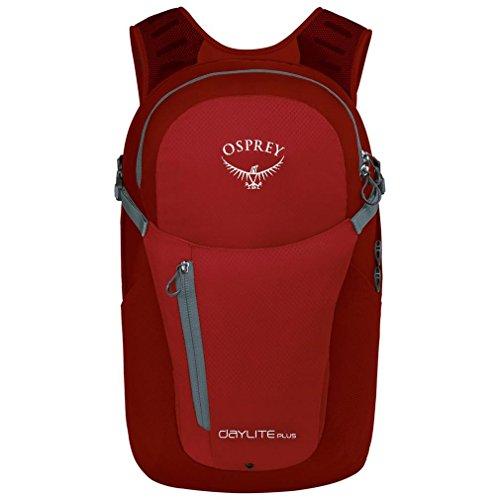 Osprey Daylite Plus 20 Litre Daysack, Red, One Size