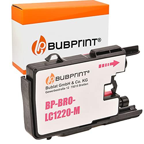 Bubprint Kompatibel Druckerpatrone als Ersatz für Brother LC-1220 LC-1240 LC1220M LC1240M für MFC-J430W MFC-J5910DW MFC-J6510DW MFC-J6710DW MFC-J825DW Magenta