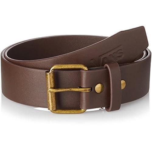 Vans_Apparel Herren Hunter Ii Pu Belt Gürtel, Braun (Dark Brown), 32
