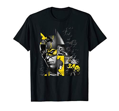 Batman 80 Years Bat Panels Dark T-Shirt