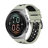HUAWEI Reloj GT 2e Bluetooth SmartWatch, Sport GPS 14 días de trabajo Fitness Tracker, Monitor de ritmo cardíaco, Monitor de oxígeno en sangre, impermeable para Android e iOS, 46 mm, verde menta