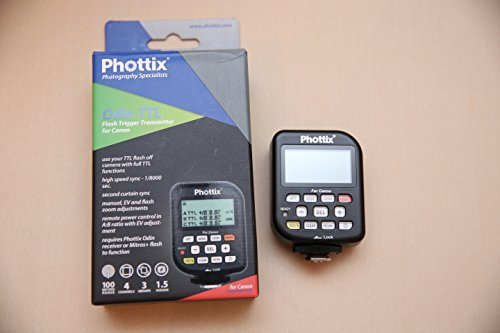Phottix Odin 1.5TTL für Canon/Absender TCU