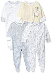 Includes four sleep 'n plays Front zipper for easy changes