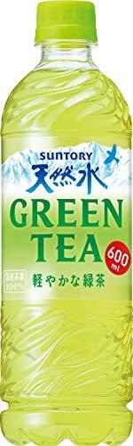 サントリー 天然水 GREEN TEA 600ml×24本