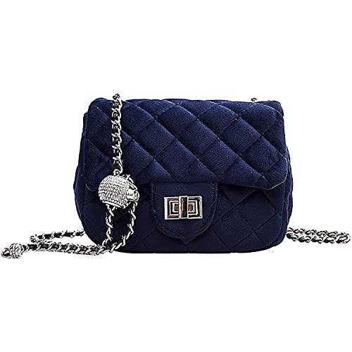 YXLYLL Bolso bandolera pequeño para mujer - cómodo bolso de hombro de gamuza A
