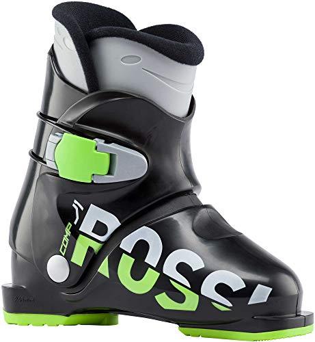 Rossignol Comp J3 Ski Boots Kid's Sz 4.5 (22.5) Black