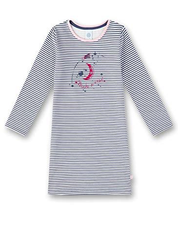 Sanetta Mädchen Nachthemd, Blau (Blue Blush 50211), (Herstellergröße: 104)