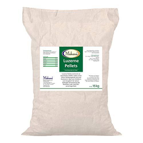 Makana Luzerne Pellets, 15 kg Sack
