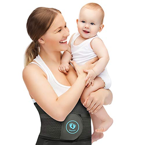 BABYGO 3 in 1 Postpartum Support Belt Belly Band Girdle and Wrap, with 90...