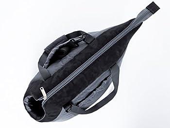 Hobbydog Karlie TOR gzc6 de Transport Chat Sac de Taille 22x 20x 36CM, Gris/Noir