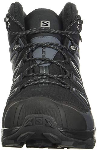 Salomon X Ultra 3 Mid GTX, Climbing Shoe Hombre, Black, 40 EU