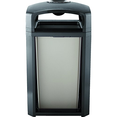 Rubbermaid Commercial Products FG397501BLA, 50gal Landmark Classic...