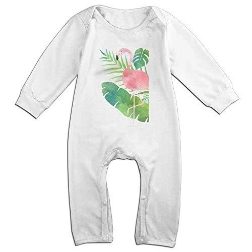 SDGSS Combinaison Bébé Flamingo Novelty Baby Girl Boy Crawling Cartoon Baby Jumper