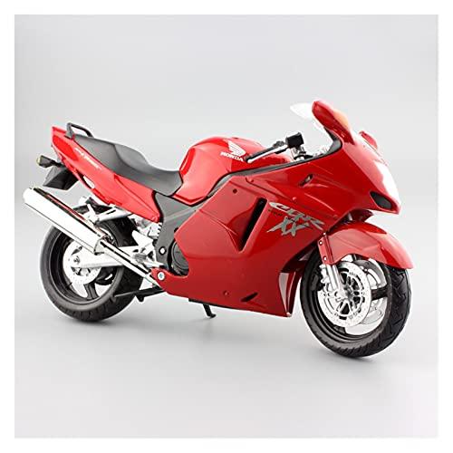 Boutique 1:12 Scale Kids Motorcycle For Honda CBR1100XX Sport Super Blackbird Diecast Motorbike Models Race Toy Vehicles (Color : 2)