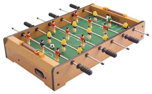 Solex Kickertisch Mini, Holz/bunt, 48.5 x 28.5 x 8.4 cm, 90202
