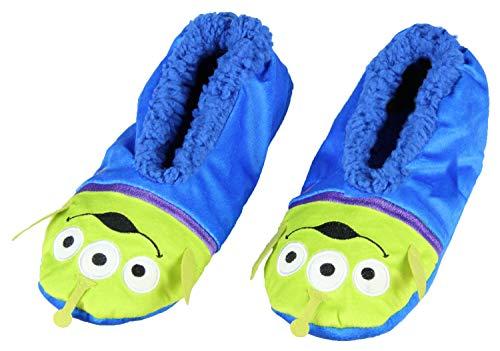 Disney Toy Story Aliens Little Green - Calcetines con suela antideslizante para hombre, Aliens de juguete., S