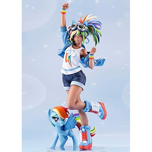 IHZ My Little Pony: Friendship is Magic genuine figure, Rainbow Dash, collectible doll decoration