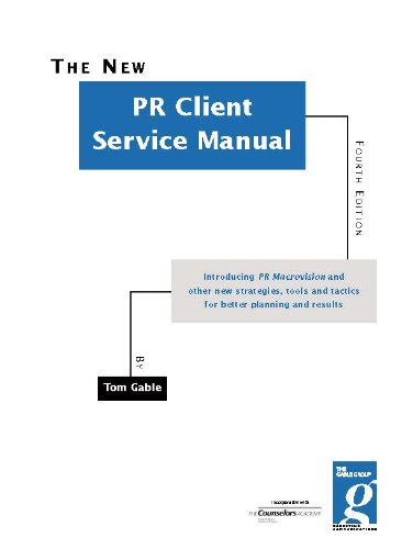 PR Client Service Manual (English Edition)