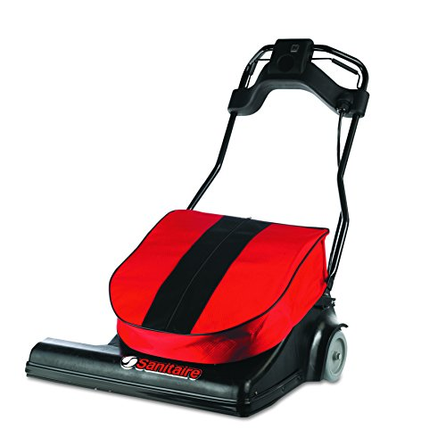 %29 OFF! Sanitaire SC6093 Wide Area Vacuum, 74 lbs, Red