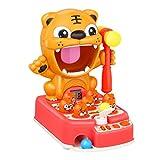 Tomaibaby Clásico Mole Whacking Mouse Juego Electrónico Juego de Arcade Niños Pequeños Educativos Aprendizaje Musical Juguete Bilingüe Rojo