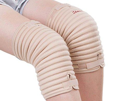 Staudt Knie Manschetten Größe M (paarweise) bei Arthrosen, Meniskus- und Bänderläsionen, Schwellungen und Stauchungen