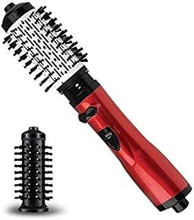 3 in 1 Hair Dryer Volumizer Styler Straightener and Curler – One Step Hot Air Brush - Anti-scald Negative Ion Rotating – Best Hair Drying Curling & Styling Tool