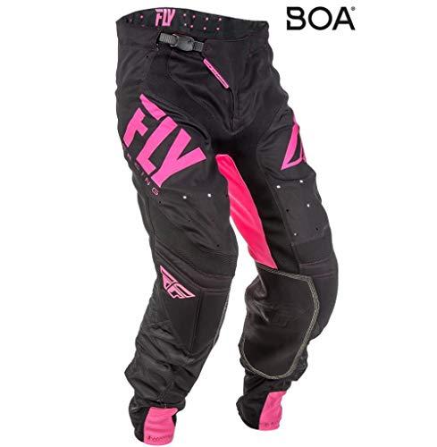 Fly Racing Lite Hydrogen Motocross Hose, neon-pink-schwarz, Größe: 38, MX Pant Mountainbike MTB