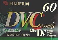 FUJIFILM DVC DV ミニDVカセット 60分 Cassette LPモード DVM60AME