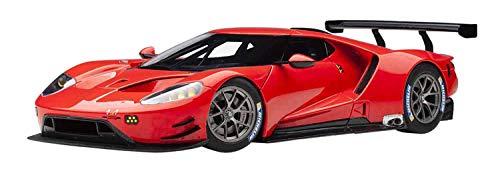 Ford GT Le Mans Plain Color Version Red 1/18 Model Car by Autoart 81811