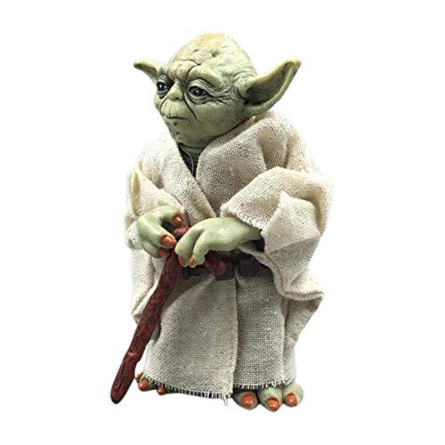 DealmerryUS Baby Yoda Ornaments, Star Wars Baby Yoda Collection Figuras de acción Juguetes Regalo de año Nuevo para niños