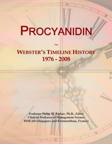 Procyanidin: Webster's Timeline History, 1976 - 2008