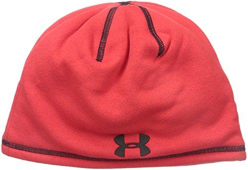 Under Armour Sportswear - Bonnets de Sport - Bonnet Homme Elements 2.0 Beanie Taille Unique Rouge