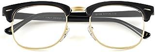 GREY JACK Classic Half Frame Sunglasses Fashion...