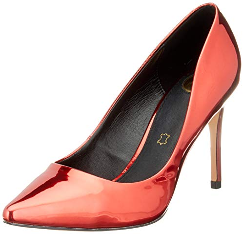 Buffalo Damen Fanny Pumps, Mehrfarbig (Red/Black 001), 40 EU