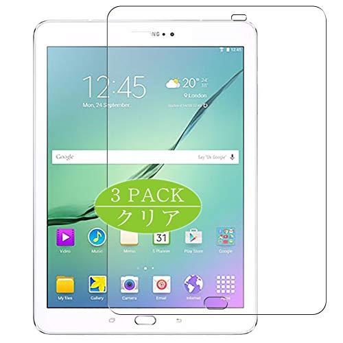 Vaxson 3 protectores de pantalla, compatible con Galaxy Tab S2 9.7 (2016) T813N/T819N/T810/T815, protector de película de TPU [no protectores de vidrio templado]
