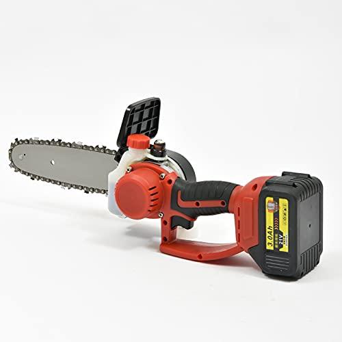 Motosierra eléctrica Mini Motosierra Bateria Hyundai Potente Motosierra De Motosierra De Motosierra Con Shaffle And Protection Switch Stiring Shears Motosierra Para La Rama (Size:15000Ah,Color:8 inch)