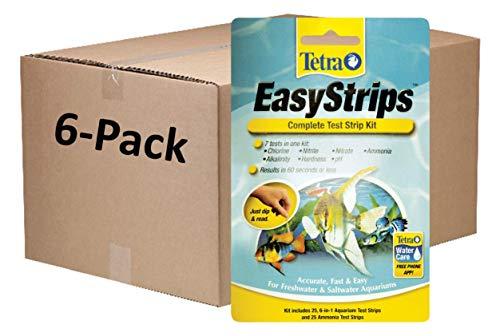 Tetra EasyStrips Complete Aquarium Test Kit, 150 Pack