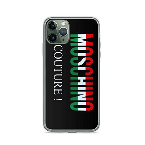Phone Case Mos-chi-no Couture Compatible with iPhone 6 6s 7 8 X XS XR 11 Pro Max SE 2020 Samsung Galaxy Tested Drop Bumper