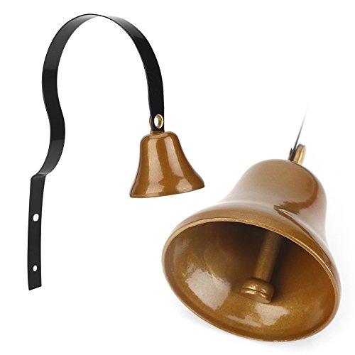 Ladenbesitzer Bell, Metall Antik Wand Shopkeepers Türklingel, Training Bell, Garten Ornament