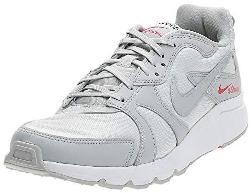 Nike Atsuma, Zapatillas de Atletismo Hombre, Gris Niebla/Gris Niebla-Blanco-Fotón, 40.5 EU