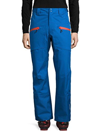 Ultrasport Herren Professional-Inuit 3 In 1 Skihose, Blau/Orange, M
