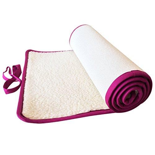 Yogamatte, Schurwolle (90 cm x 200 cm)