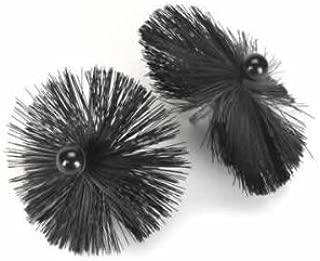 Wohler Usa #1415 10 Inch Poly Brush For Viper For 8 Inch Flue