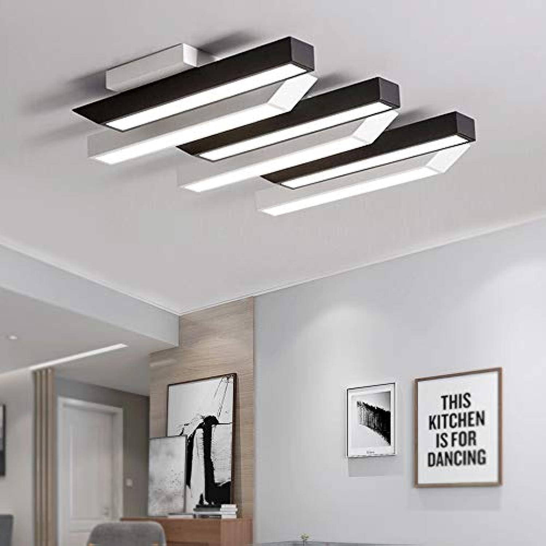 MIWOOHO 72W Kaltwei LED Deckenleuchte Deckenlampe Modern LED Panel ...