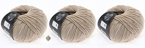 Lana Grossa Cool Wool - Gomitolo di pura lana merino extra fine, con cuore, 50 g