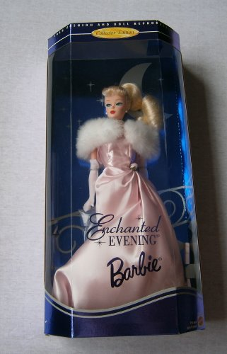 MATTEL barbie poupée blonde - collector edition ENCHANTED EVENING - 1960 fashion and doll reproduction - 1995