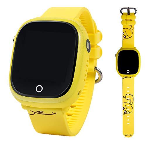 ON WATCH Smartwatch para niños con localizador GPS, Llamadas y cámara de Fotos. Reloj Inteligente acuático con IP67 para niños de 3 a 13 años