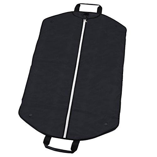 Alpamayo® Business Kleidersack, Kleidertasche für Anzüge und Hemden auf Reise, Anzugtasche zum Transport als Handgepäck, im Koffer oder Trolley, schwarz