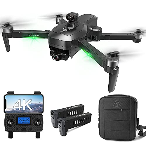 Drones with Camera for Adults 4K, LARVENDER 3937ft Long Range Professional 3-Axis Gimbal Drones for Adults with EVO Obstacle Avoidance, 2 Batteries 50Mins Flight Time,Quadcopter Drone GPS Auto Return